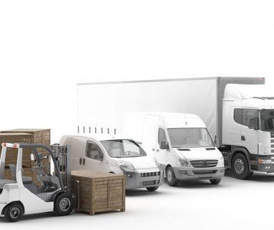 Transporte internacional de mercancías por carretera. Flota de